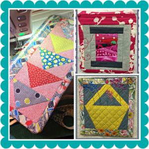Mug Rug and Zipper Pouches